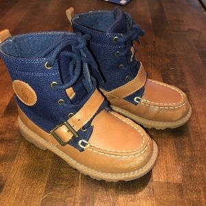 Little boys Polo boots size 10